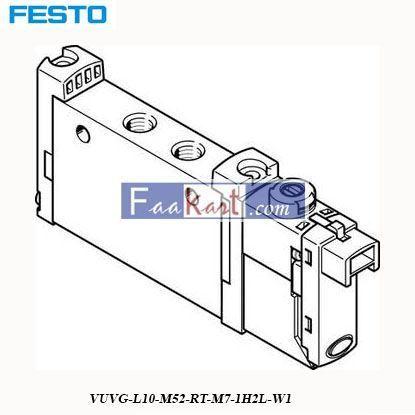 Picture of VUVG-L10-M52-RT-M7-1H2L-W1  FESTO   Solenoid Valve