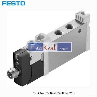 Picture of VUVG-L10-M52-RT-M7-1R8L  FESTO  Solenoid Valve