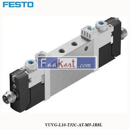 Picture of VUVG-L10-T32C-AT-M5-1R8L  FESTO  Pneumatic Solenoid Valve