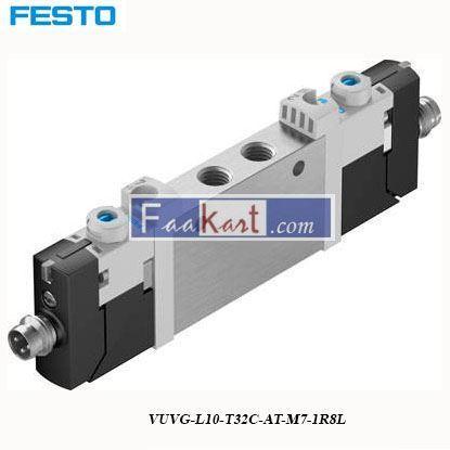 Picture of VUVG-L10-T32C-AT-M7-1R8L FESTO  Pneumatic Solenoid Valve