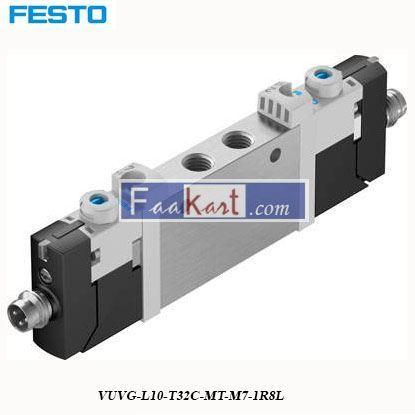 Picture of VUVG-L10-T32C-MT-M7-1R8L  FESTO  Pneumatic Solenoid Valve