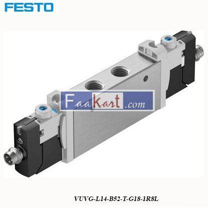 Picture of VUVG-L14-B52-T-G18-1R8L FESTO  Solenoid Valve