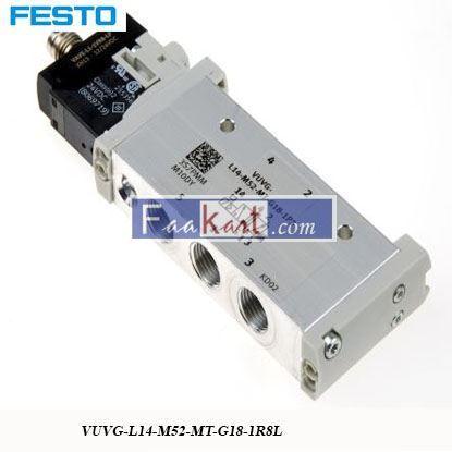 Picture of VUVG-L14-M52-MT-G18-1R8L  FESTO   Solenoid Valve