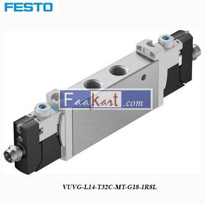 Picture of VUVG-L14-T32C-MT-G18-1R8L  FESTO Pneumatic Solenoid Valve