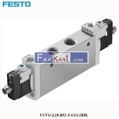 Picture of VUVG-L18-B52-T-G14-1R8L FESTO Solenoid Valve