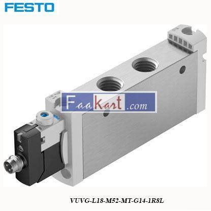 Picture of VUVG-L18-M52-MT-G14-1R8L  FESTO  Solenoid Valve