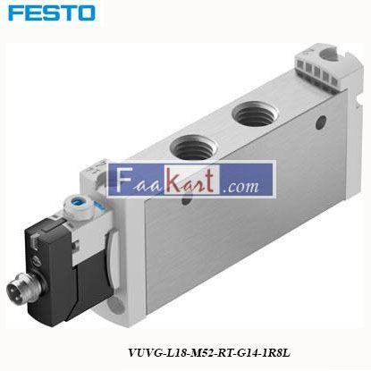 Picture of VUVG-L18-M52-RT-G14-1R8L  FESTO Solenoid Valve