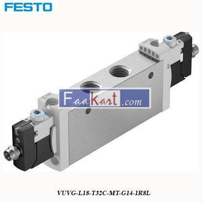Picture of VUVG-L18-T32C-MT-G14-1R8LFESTO Pneumatic Solenoid Valve