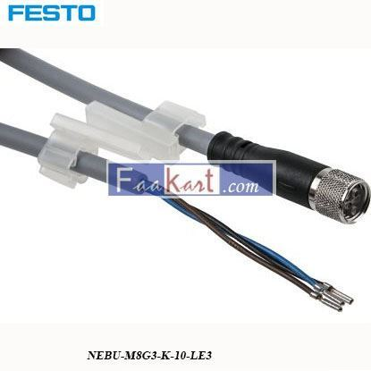 Picture of NEBU-M8G3-K-10-LE3  FESTO  Connecting Cable