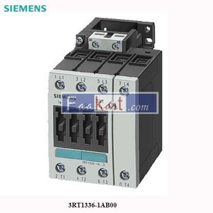 Picture of 3RT1336-1AB00 Siemens Contactor