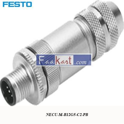 Picture of NECU-M-B12G5-C2-PB  FESTO Plug Socket