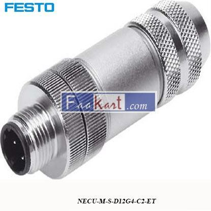 Picture of NECU-M-S-D12G4-C2-ET  FESTO coded Plug