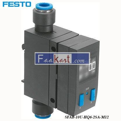 Picture of SFAB-10U-HQ6-2SA-M12  FESTO flow sensor