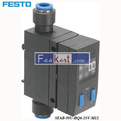 Picture of SFAB-50U-HQ6-2SV-M12  FESTO  flow sensor