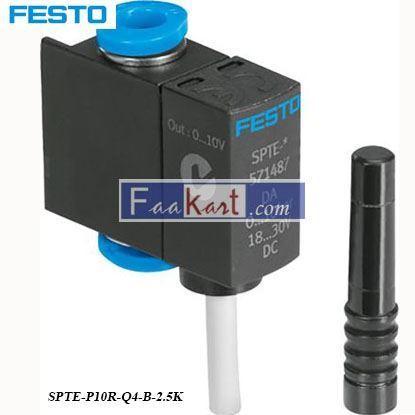 Picture of SPTE-P10R-Q4-B-2  FESTO pressure transmitter