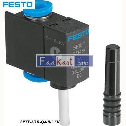 Picture of SPTE-V1R-Q4-B-2  FESTO  pressure transmitter