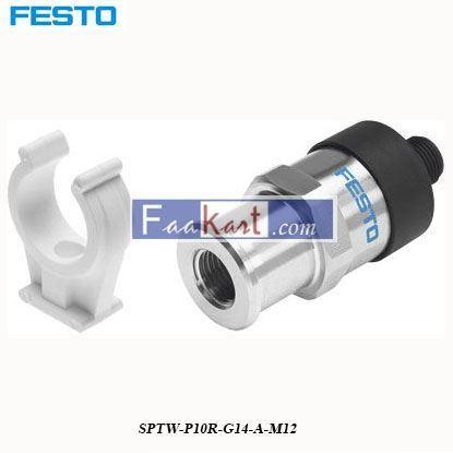Picture of SPTW-P10R-G14-A-M12  Festo Pneumatic Sensor
