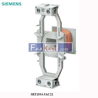 Picture of 3RT1934-5AC22 Siemens Magnet coil for contactors SIRIUS
