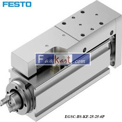 Picture of EGSC-BS-KF-25-25-6P  NewFesto Electric Linear Actuator