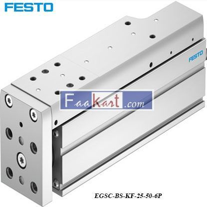 Picture of EGSC-BS-KF-25-50-6P  NewFesto Electric Linear Actuator