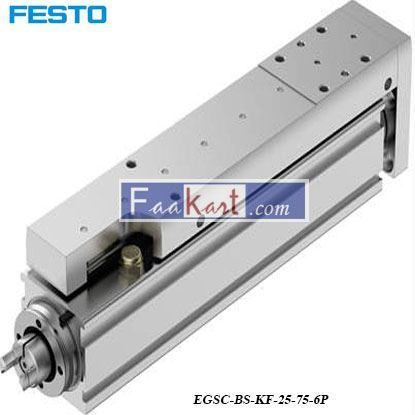 Picture of EGSC-BS-KF-25-75-6P  NewFesto Electric Linear Actuator