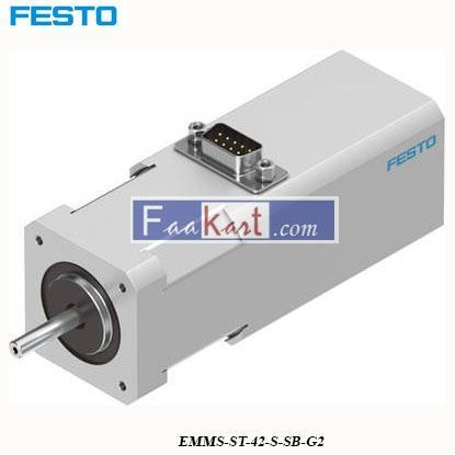 Picture of EMMS-ST-42-S-SB-G2  NewFesto Hybrid Stepper Motor