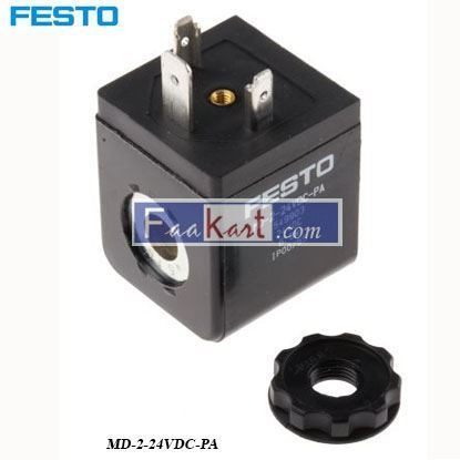 Picture of MD-2-24VDC-PA  Festo Solenoid Coil