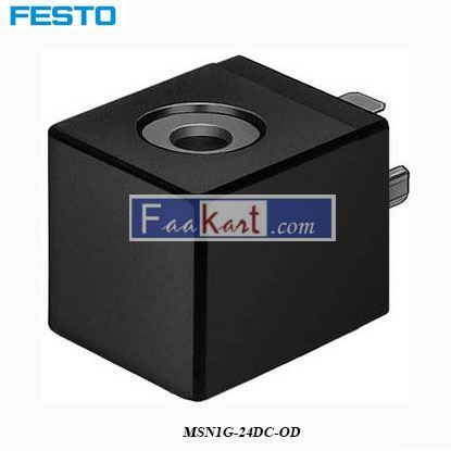 Picture of MSN1G-24DC-OD  NewFesto Solenoid Coil
