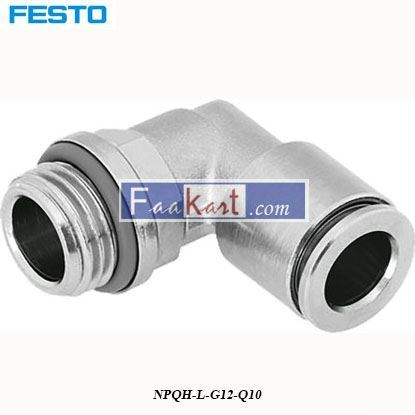 Picture of NPQH-L-G12-Q10  FESTO  Elbow Connector