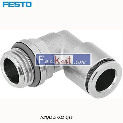 Picture of NPQH-L-G12-Q12  FESTO  Elbow Connector