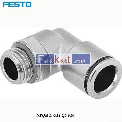 Picture of NPQH-L-G14-Q6-P10 FESTO Elbow Connector