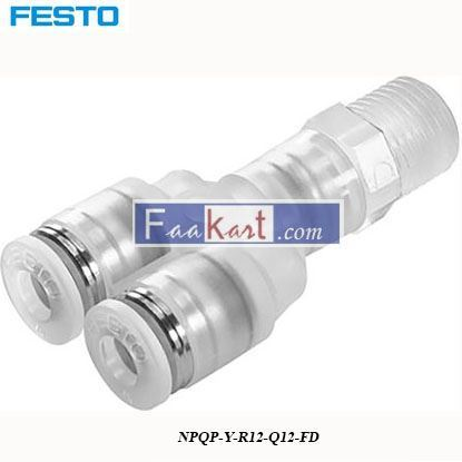 Picture of NPQP-Y-R12-Q12-FD  Festo Pneumatic Double Y Threaded