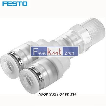 Picture of NPQP-Y-R14-Q4-FD-P10  Festo Pneumatic Double Y Threaded
