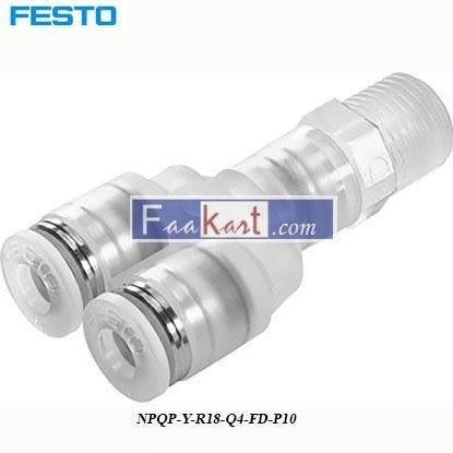 Picture of NPQP-Y-R18-Q4-FD-P10  Festo Pneumatic Double Y Threaded