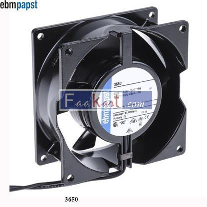Picture of 3650 EBM-PAPST AC  Axial fan