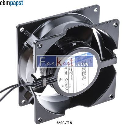 Picture of 3600-718 EBM-PAPST AC Axial fan