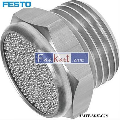 Picture of AMTE-M-H-G18  FESTO Pneumatic Silencer,