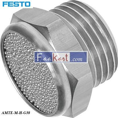 Picture of AMTE-M-H-G38  FESTO Pneumatic Silencer