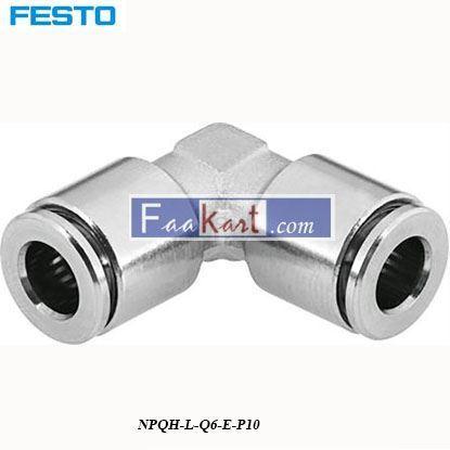 Picture of NPQH-L-Q6-E-P10  Festo Pneumatic Elbow Tube
