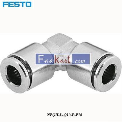 Picture of NPQH-L-Q10-E-P10  Festo Pneumatic Elbow Tube