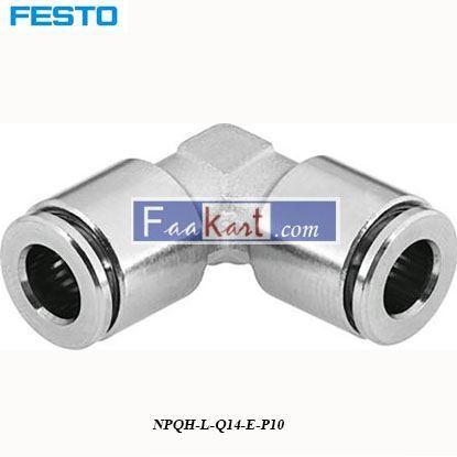 Picture of NPQH-L-Q14-E-P10  Festo Pneumatic Elbow Tube