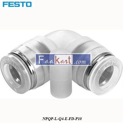 Picture of NPQP-L-Q4-E-FD-P10  Festo Pneumatic Elbow Tube