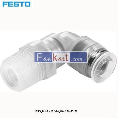 Picture of NPQP-L-R14-Q8-FD-P10  Festo Pneumatic Tee Tube Adapter