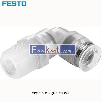 Picture of NPQP-L-R14-Q10-FD-P10  Festo Pneumatic Tee Tube Adapter