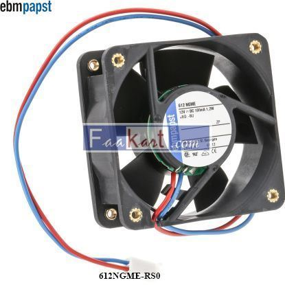Picture of 612NGME-RS0 EBM-PAPST DC Axial fan