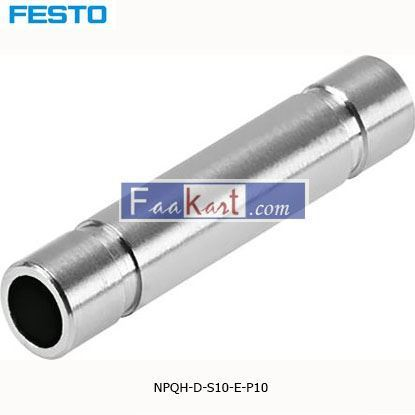 Picture of NPQH-D-S10-E-P10  Festo NPQH Straight Union