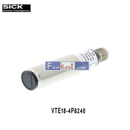 Picture of VTE18-4P8240 SICK CYLINDRICAL PHOTOELECTRIC SENSORS