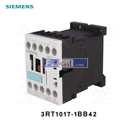 Picture of 3RT1017-1BB42  SIEMENS CONTACTOR