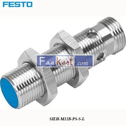 Picture of SIEH-M12B-PS-S-L  FESTO  Inductive Sensor