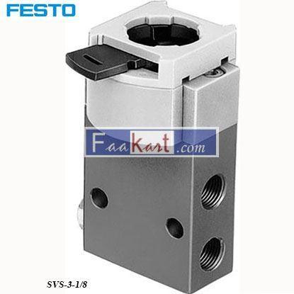 Picture of SVS-3-18  FESTO Pneumatic Drain